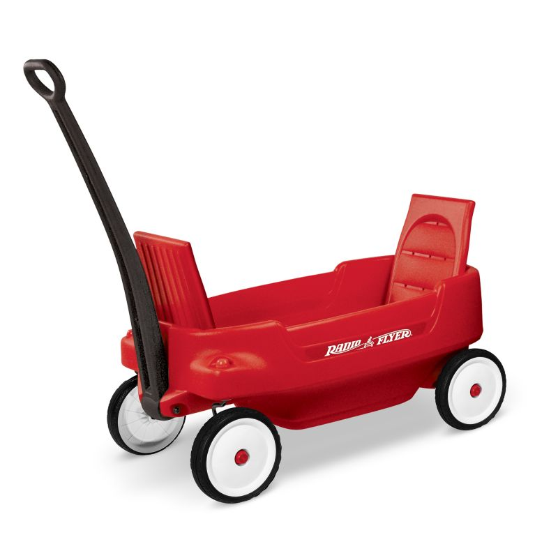 042385903002 - Radio Flyer 2700 Pathfinder Wagon, Red (Discontinued by manufacturer) carousel main 0