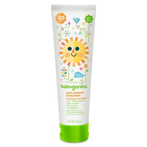Babyganics 4-oz. Pure Mineral SPF 30 Sunscreen Lotion