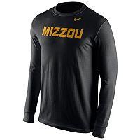 Men's Nike Missouri Tigers Wordmark Long-Sleeve Tee