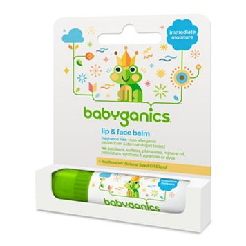 Babyganics Fragrance-Free Lip & Face Balm