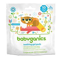 Babyganics 10-pk. Single-Use Teething Gel Pods