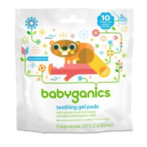 Babyganics 10-pk. Single-Use Teething Gel Pods