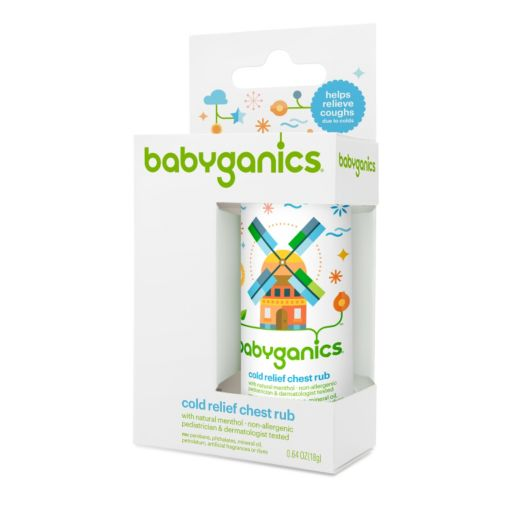 Babyganics Cold Relief Chest Rub