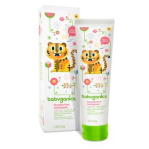 Babyganics 4-oz. Fluoride-Free Toothpaste