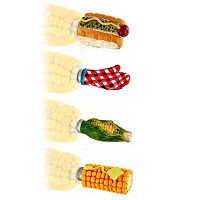 Mr. Bar-B-Q 8-pc. Corn On The Cob Holder Set