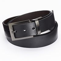 Apt. 9® Reversible Cut-Edge Bridle Dress Belt - Big & Tall