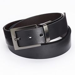 Apt. 9® Reversible Cut-Edge Bridle Dress Belt - Big & Tall