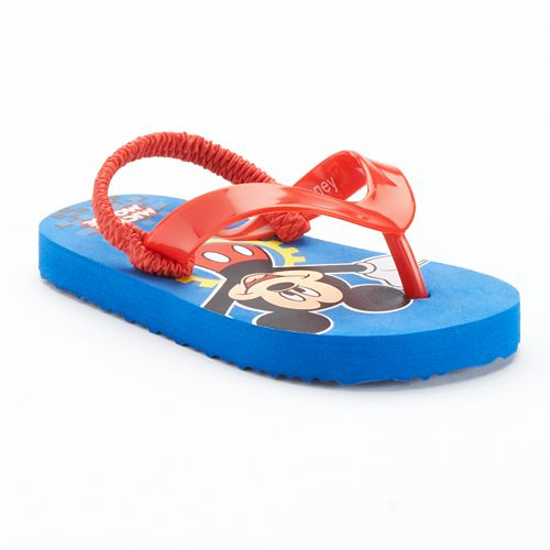 847bb3130ac7 Disney s Mickey Mouse Flip-Flops - Toddler Boy