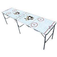 Pittsburgh Penguins 2' x 8' Tailgate Table