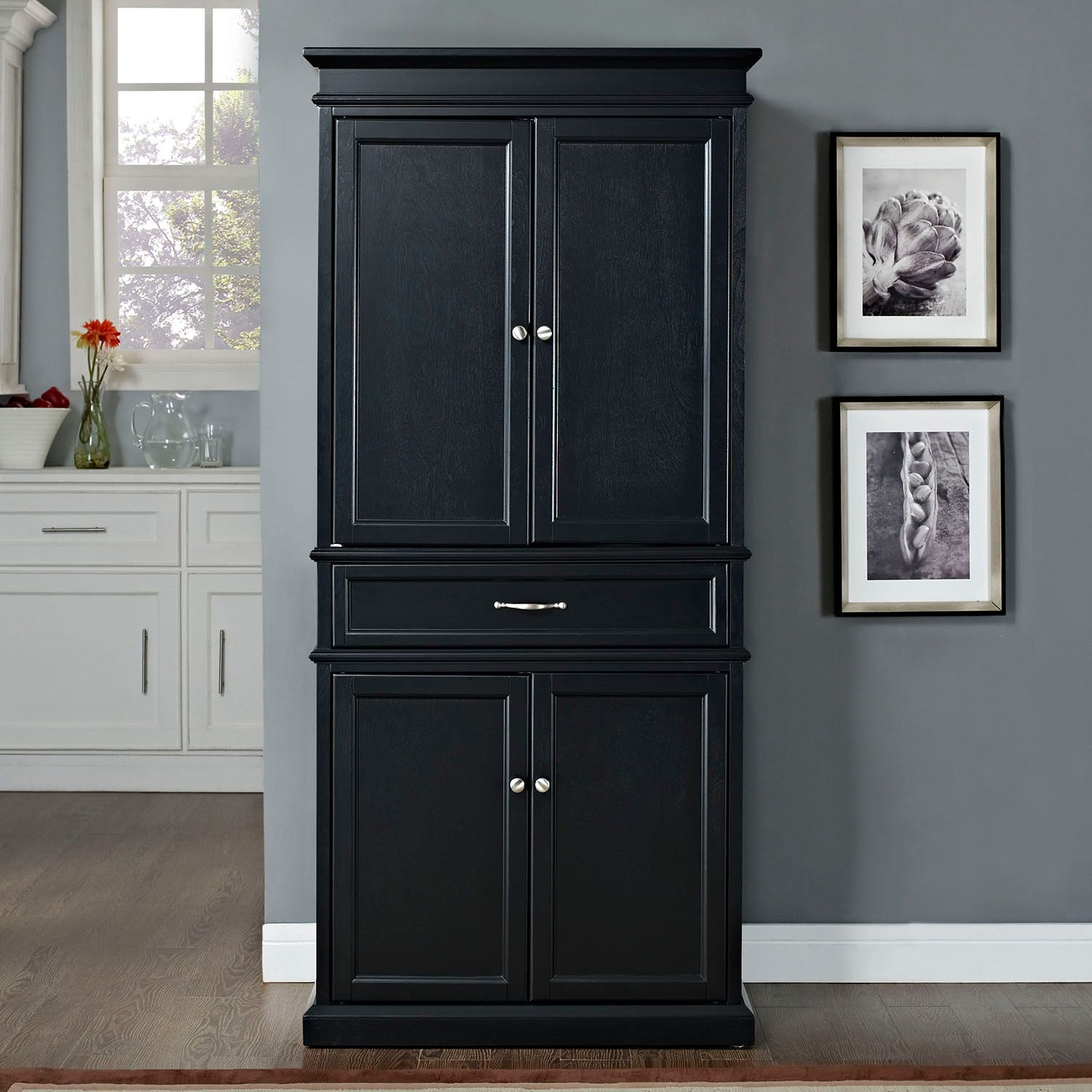 Contemporary Storage Cabinets With Doors Decoration Ideas