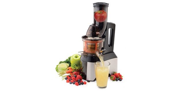 Salton Wide Mouth Slow Juicer : Salton Wide-Mouth Slow Juicer