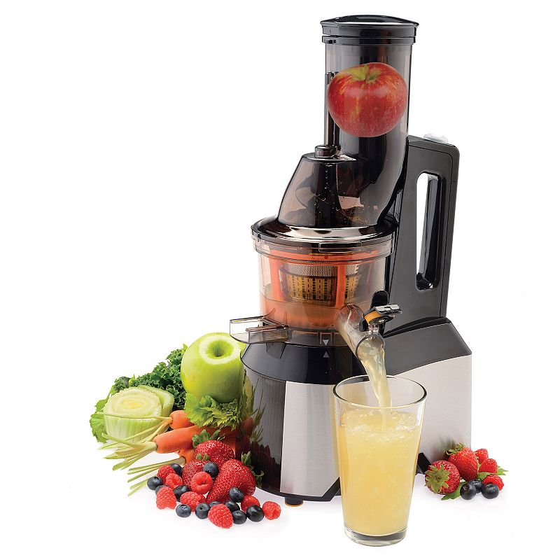 SALTON WIDE-MOUTH SLOW JUICER