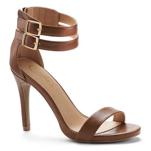 Candie's® Women's Double-Strap Dress High Heels