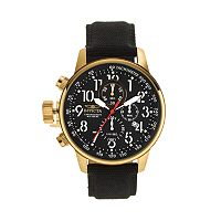 Invicta Men's I-Force Leather Chronograph Watch