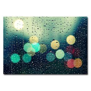 """""""Rainy City"""" Canvas Wall Art"""