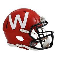 Riddell Wisconsin Badgers Revolution Speed Mini Replica Helmet
