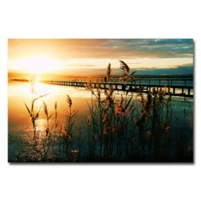 """""""Wish You Were Here"""" Canvas Wall Art"""