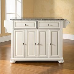 Crosley Furniture Alexandria Granite Kitchen Island