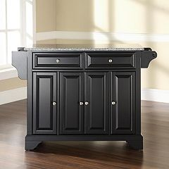 Crosley Furniture Lafayette Granite Kitchen Island