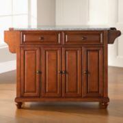 Crosley Furniture Cambridge Granite Kitchen Island