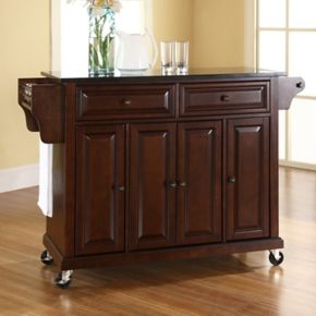 Crosley Furniture Granite Kitchen Cart