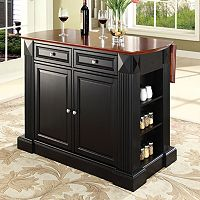 Crosley Furniture Drop-Leaf Kitchen Island