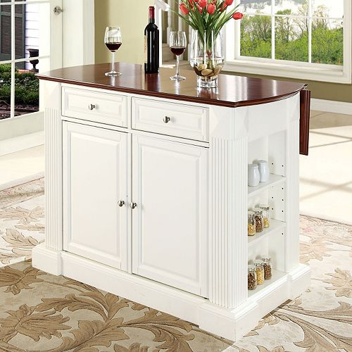 Crosley Furniture Drop Leaf Kitchen Island