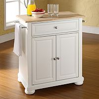 Crosley Furniture Alexandria Wood Top Kitchen Island