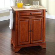 Crosley Furniture LaFayette Wood Top Kitchen Island
