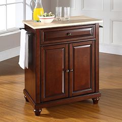 Crosley Furniture Cambridge Wood Top Kitchen Island