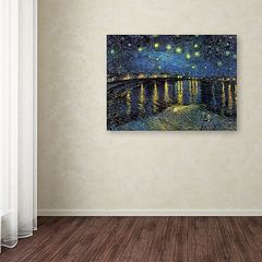 'Starry Night II' Canvas Wall Art by Vincent van Gogh