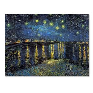 """Starry Night II"" Canvas Wall Art by Vincent van Gogh"