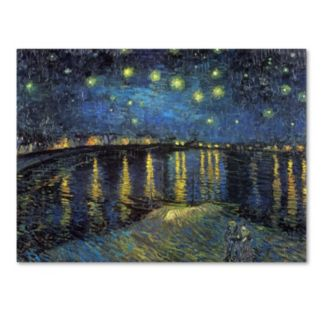 """""""Starry Night II"""" Canvas Wall Art by Vincent van Gogh"""
