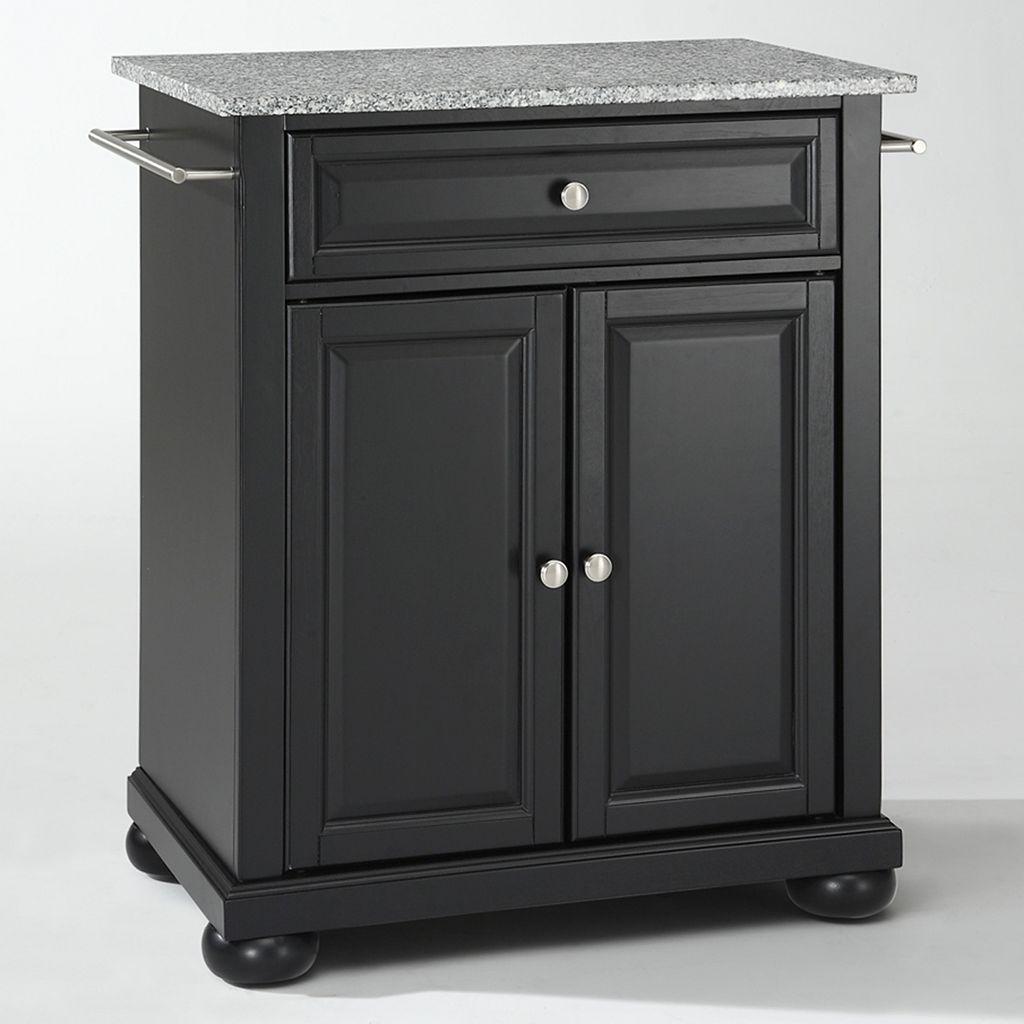 Crosley Furniture Alexandria Granite Top Kitchen Island