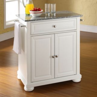 Crosley Furniture Alexandria Granite Top Kitchen Island