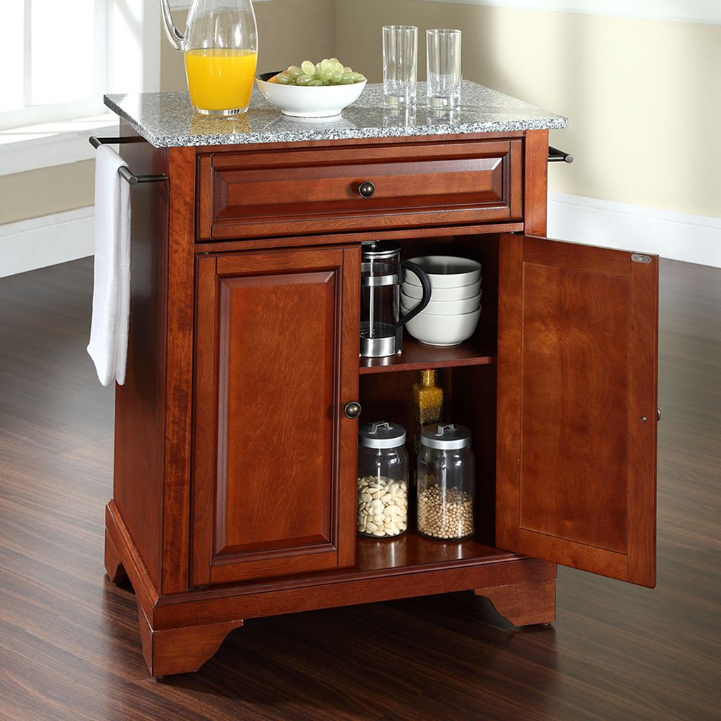 Crosley Furniture LaFayette Granite Top Kitchen Island