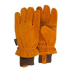 QuietWear Split Leather Gloves - Men