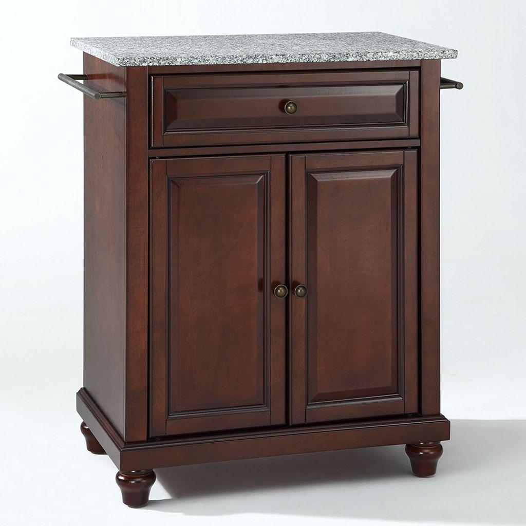 Crosley Furniture Cambridge Granite Top Kitchen Island