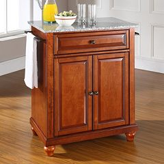 Crosley Furniture Cambridge Granite Top Kitchen Island