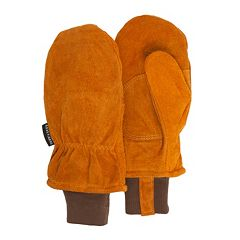 Men's QuietWear Split Leather Mittens