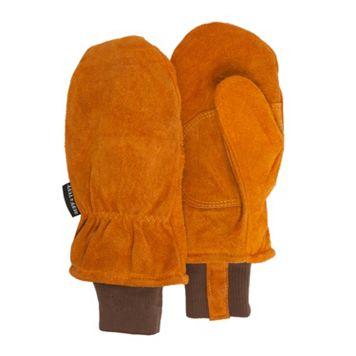 Men's QuietWear Split Leather Mittens