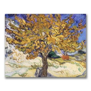 """Mulberry Tree, 1889"" Canvas Wall Art by Vincent van Gogh"
