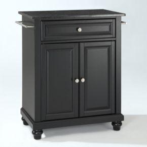 Crosley Furniture Cambridge Black Granite Top Kitchen Island