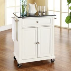 Kitchen Island Cart White kitchen carts & islands, furniture | kohl's
