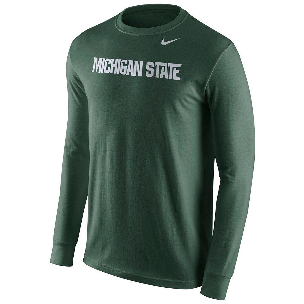 Men's Nike Michigan State Spartans Wordmark Tee