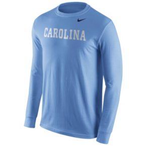 Men's Nike North Carolina Tar Heels Wordmark Tee