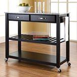 Crosley Furniture Granite Top Kitchen Cart