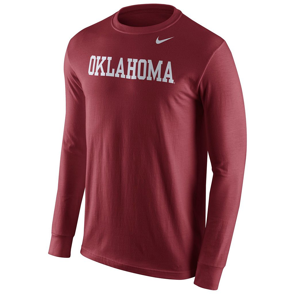 Men's Nike Oklahoma Sooners Wordmark Tee