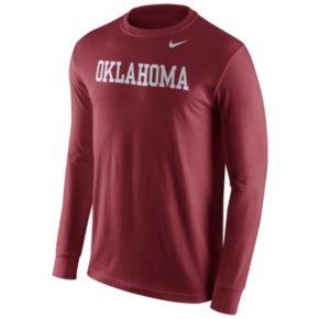 Men's Nike Oklahoma Sooners Wordmark Tee