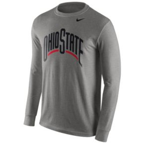 Men's Nike Ohio State Buckeyes Wordmark Tee